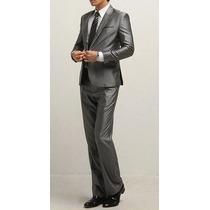 Pronta Entrega - Terno Masculino Slim Fit 1 Botão Importado