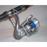Set Okuma Caña 1.80m + Carrete + Accesorios / Jainel Fishing