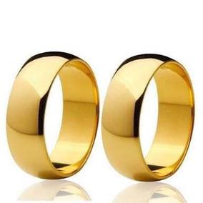 Alianças Em Ouro 18k 7mm 12 Gramas - Casamento - Noivado