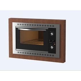 Forno Elétrico De Embutir Nardelli N450 Black 45l