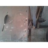 Mesa De Cortar Ceramico Madera Hierrro Con Piedra Y Mandril