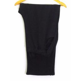 Pantalón Talle Grande Recto Modal/ Lycra Mujer Bolsillos