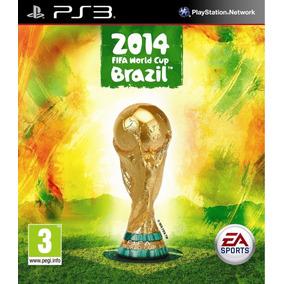 Fifa World Cup Brazil 2014, Juego Digital Ps3 Español Kmb