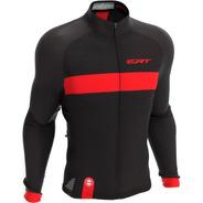 Camisa Ert Manga Longa Nova Tour Strip Red Ciclismo Mtb Bike
