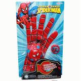 Spiderman Guante Lanza Discos Héroe Jd217