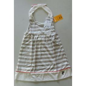 Vestido Infantil Com Listras Marisol