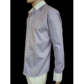 Camisa Emporio Armani Made In Italy Talle M