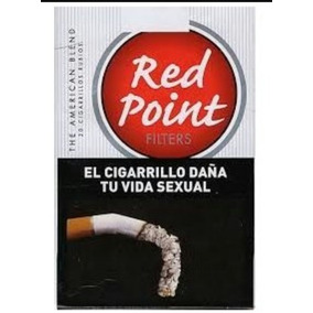 Cigarrillos Red Point, Originales De Tabacalera Sarandí