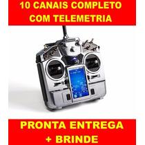 Radio Turnigy Tgy-i10 10ch 2.4ghz Digital Telemtria Completo