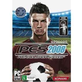 Jogo - Pc Dvd - Futebol - Pes 2008 - Pro Evolution Soccer