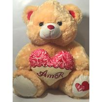 Urso Pelucia Amor Eu Teamo Love
