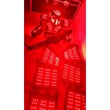 Traje Led Depredador Robot Led Tmd Con Descuento!!!