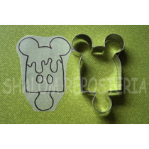 * Cortador De Galletas Paleta Mickey Mouse Fondant Royal