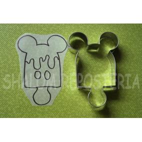 * Cortador De Galletas Paleta Mickey Mouse Fondant Royal
