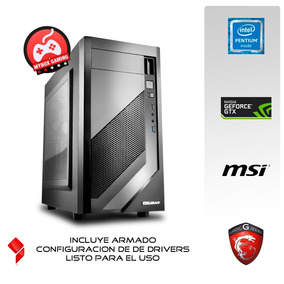 Pc Gamer Intel G4560 - 8gb Ddr4 - Gtx 1050 Ti 4gb
