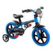 Bicicleta Infantil Nathor Veloz Aro 12 Freio Tambor Cor Azul