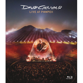 David Gilmour Live At Pompeii 2 Blu-ray + 2 Cd Nuevo Import