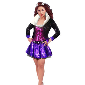 92d11b2179f7 Disfraz De Clawdeen Monster High Para Dama Halloween Loba