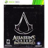 Assassins Creed Brotherhood Collector Edition Xbox 360 Nuevo