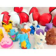 Pokemon Na Pokebola 50 Unid Kit Festa E Brinde Infantil
