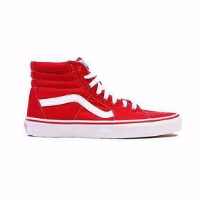 Zapatillas Botitas Vans Sk8 Hi Red #vn-ots9gyk