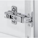 Kit 10pçs Dobradiça Para Porta De Perfil De Aluminio Fgv Tn