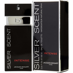 Jacques Bogart Perfume Silver Scent Intense Edt Masc 100ml
