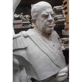 Bustos De Sarmiento; Evita, Peron, Yrigoyen, Proceres, 60cm