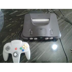 Nintendo 64 1 Controle Cabo Av, Fonte E 1 Jogo Brinde.