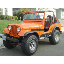 Limpador Parabrisa Manual Kit(jogo) Jeep Willys Cj3