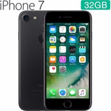 Apple Iphone 7 32gb 4g C/ Nota Fiscal Brinde Capa E Película