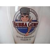 Vaso Copa Bubba Gump Aniversario 20 Anaheim Souvenir Bar
