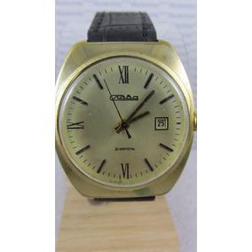 Cjiaba Slava. Antigo Relógio Federação Russa. Masc. Leilão