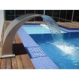 Cascata Para Piscina - Aço Inox 304 - Wave - 80 Cm