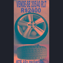 Roda Saveiro Cross 205/40 R17