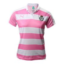 Jersey Playera Rosa Santos Laguna Dama Project Pink Puma