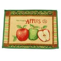 Patrón De Apple Dormitorio Baño Cocina Antideslizante Alfom