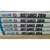 Just Dance Wiiu 2014 Lote De 5