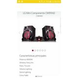 Minicomponente Lg Cm9960 Nuevo