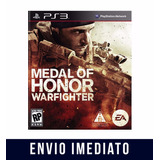 Medalha De Honra Warfighter Ps3 Psn