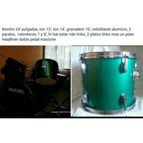 Bateria Acustica 13 Piezas Barata Maxtone
