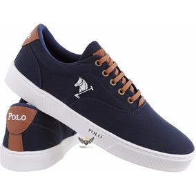 Tenis Polo Ralph Lauren Vaughn Branco Masculino - Calçados ac230b408ff
