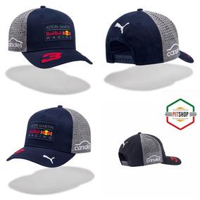 Gorra Puma Red Bull Aston Martin Ricciardo **2018** Curva