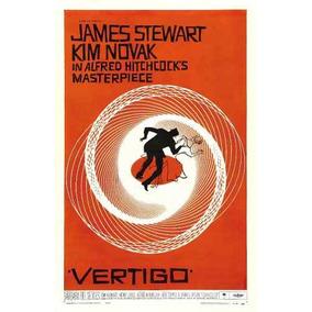 Cuadro Poster Vertigo Hitchcock 60 X 90 Cm