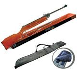 Rifle Aire Comprimido 5.5mm + Funda Reforzada Camping Pesca