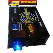Fonte Sobrecarga 100a 12,5v @14,4v Bi-volt Automatica