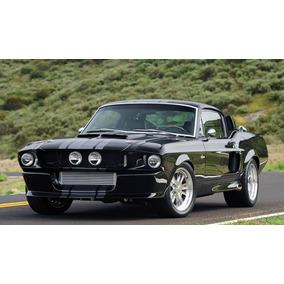 Lienzo Tela Clásicos, Mustang Shelby Gt500 70x124cm