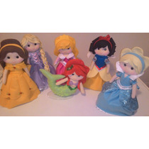Bonecos Em Feltro Princesas