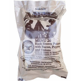 Racion Comida Militar Mre Menu 20 Hash Brown And Potatoes