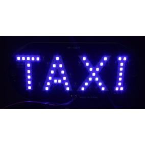 Luminoso Taxi Interno 45 Led Sem Plugue S/ Ventosas